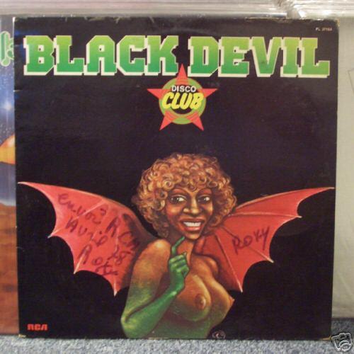 BLACK DEVIL - Disco Club RARE Original LP on RCA ITALO