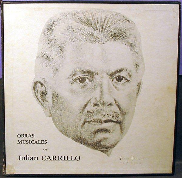 JULIAN CARRILLO 12 record set 'The Thirteenth Sound'