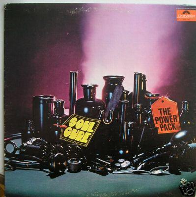 "THE POWER PACK ""Soul Cure"" Orig POLYDOR Soul/Funk LP"