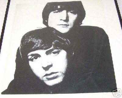 Original David Bailey Beatles Lennon & McCartney Print