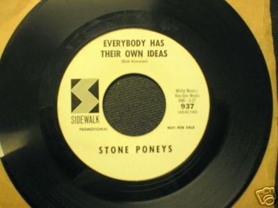 Stone Poneys on Sidewalk #937 Promo very RARE