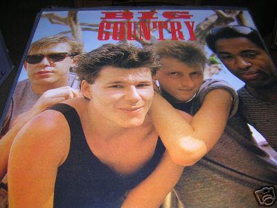 Big Country RARE 1983 USA Tour LP  Stuart Adamson