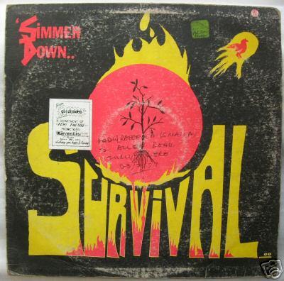 very super rare afro soul funk psych lp SURVIVAL beats