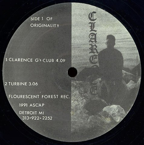 """CLARENCE G [1991] Hyperspace Sound Lab 12"""" Electro Rap"""