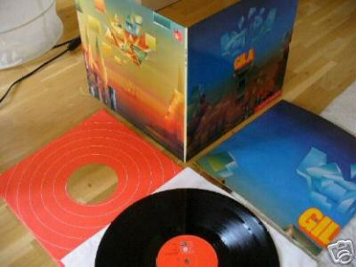 GILA  1st Lp 1971 GER Prog Psych Orig. + POSTER + NM