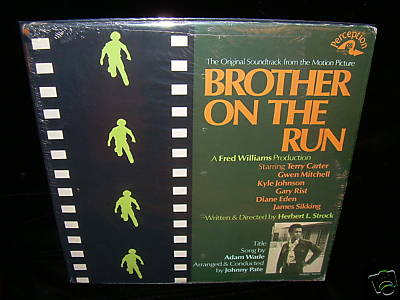 Johnny Pate LP PERCEPTION Brother On The Run M- 1973