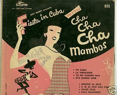 FIESTA IN CUBA- FAJARDO AND HIS MONTMARTRE HAVANA ORCH.
