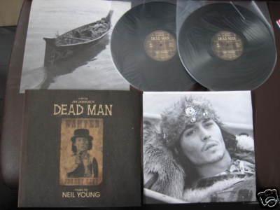 "Neil Young""Dead Man""US Double Vinyl LP Depp Jarmusch"