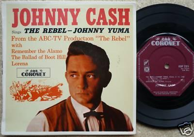 JOHNNY CASH - THE REBEL - JOHNNY YUMA ABC-TV EP
