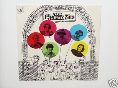 "THE HUMAN ZOO PSYCH GARAGE FUZZ LP SEALED 12"" PUNK / 45"