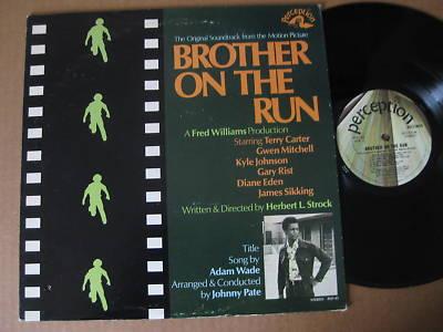 Brother On The Run LP Blaxploitation Johnny Pate  MINT