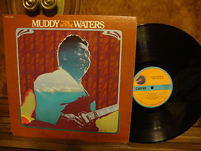 """Muddy Waters       """"Unk"""" In Funk    Rare Stereo 1972 Chess Beautiful  M-"""